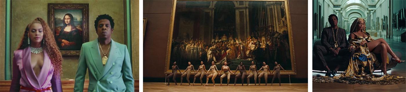 Backstage clip Beyonce