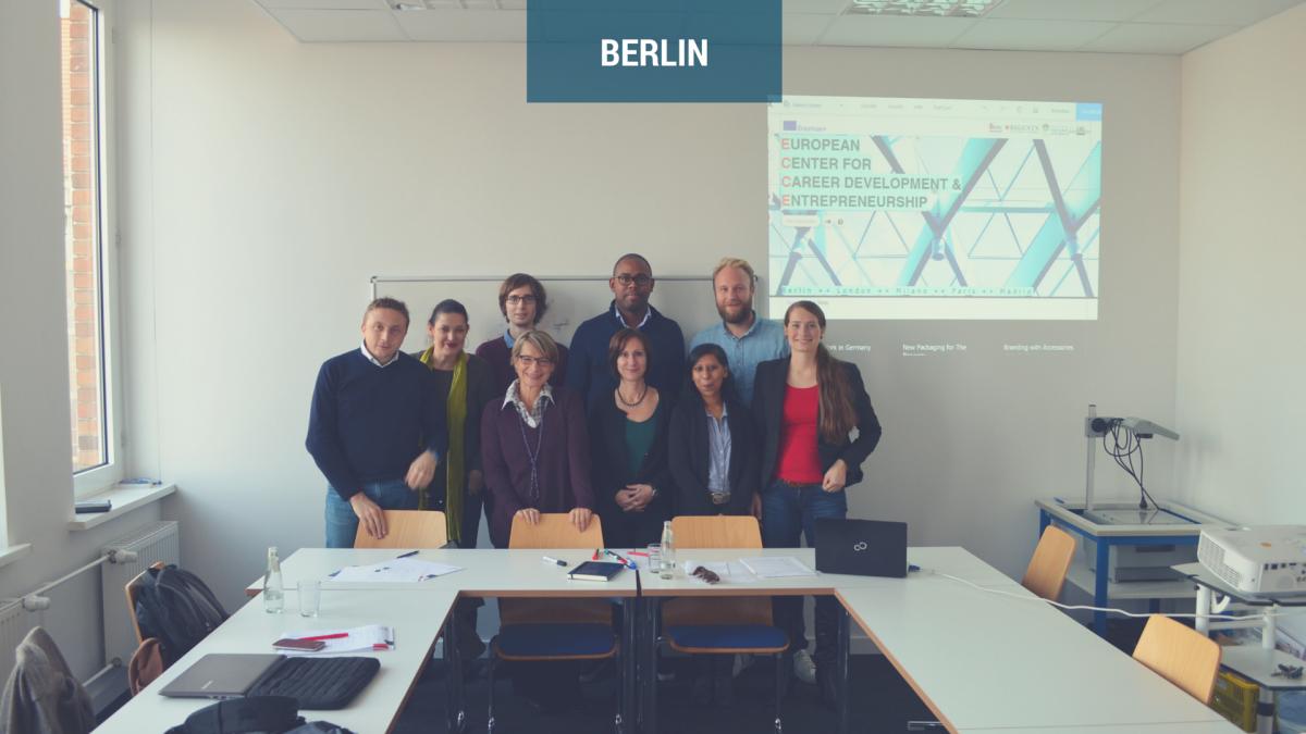 Work meetings in Berlin