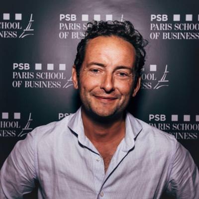 Aymeric Chomel - Directeur des Programmes Internationaux de PSB