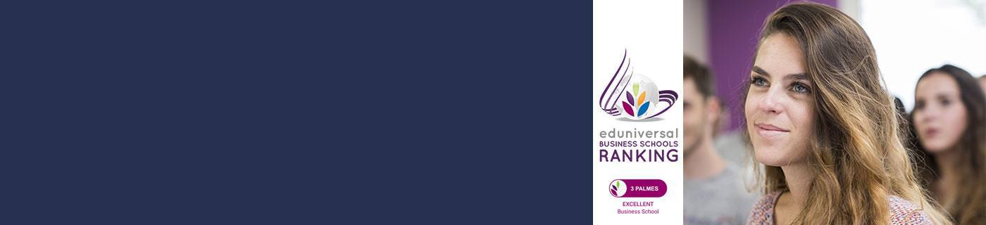 PSB Paris School of Business Eduniversal ranking