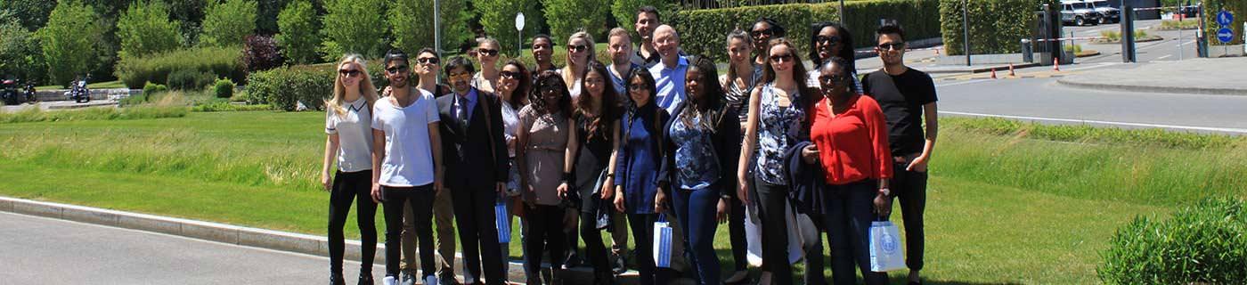 International MBA students Geneva