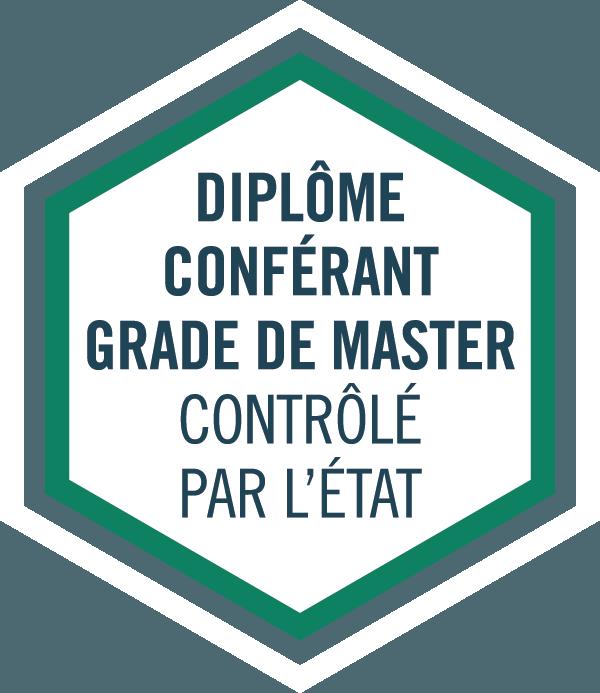 Ecole de commerce reconnue par l'Etat