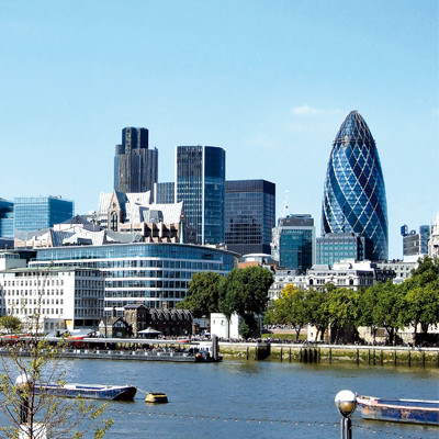 London business district