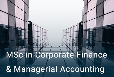 MSc in Corporate Finance & Managerial Accounting