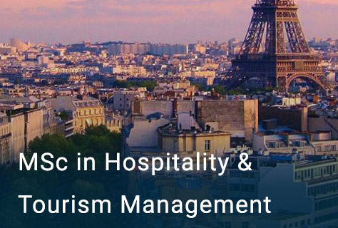 MSc in Hospitality and Tourism Management