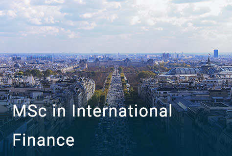 MSc in International Finance