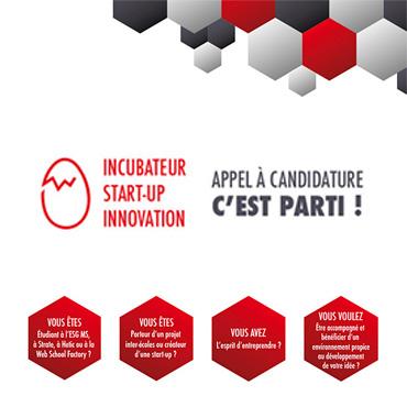 Lancement de l'incubateur Start-up Innovation !