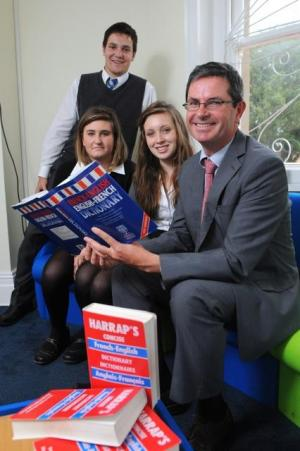 Paris School of Business in Wales to meet with St Clare's School