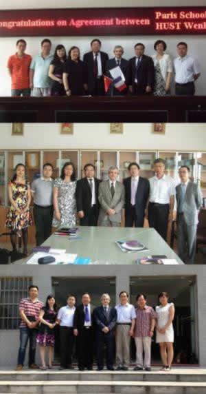 Paris School of Business Visits China!