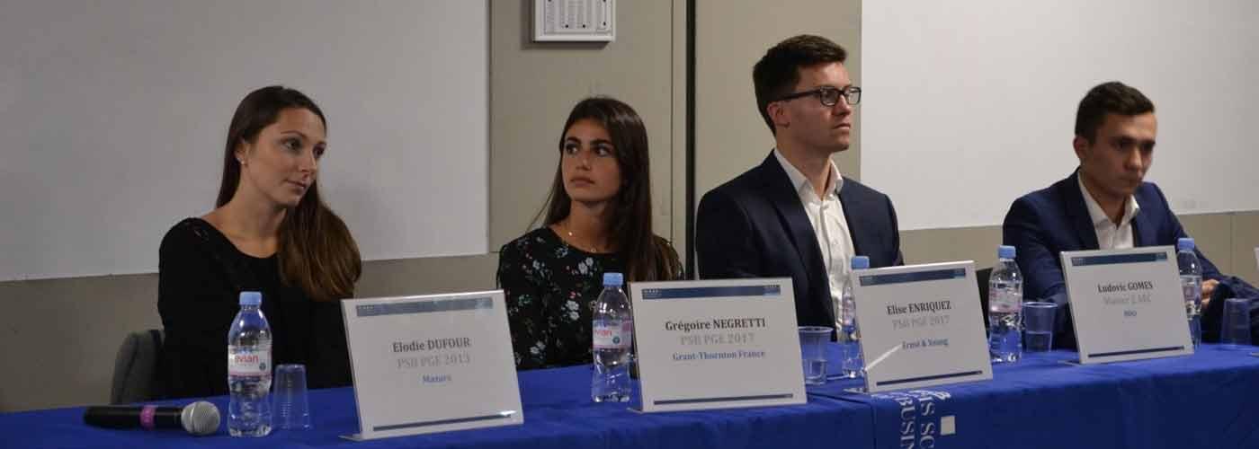 Conférence du Master Comptabilité Conseil Audit du 22 Novembre 2018
