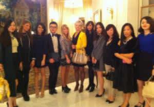 Fashion Saturday at the 'Le Bristol' Hotel