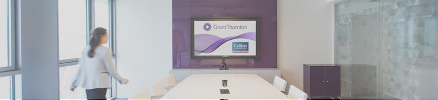 Moment dédié Grant Thornton pour les étudiants du master CCA