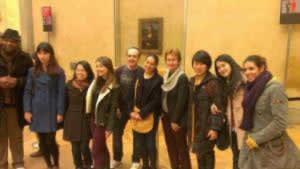 MBA in Arts & Cultural Management Students Visit the Famous Louvre Museum in Paris
