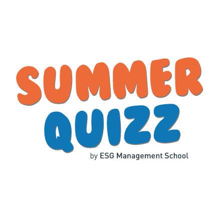 Participez au Summer Quizz de l'ESG Management School