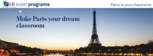 Short Programs in Paris – Apply now!