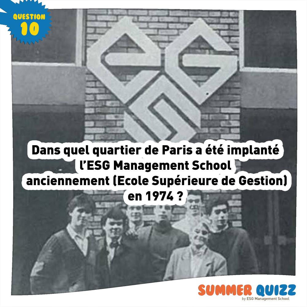 Summer Quizz #10 - Réponse et gagnant !