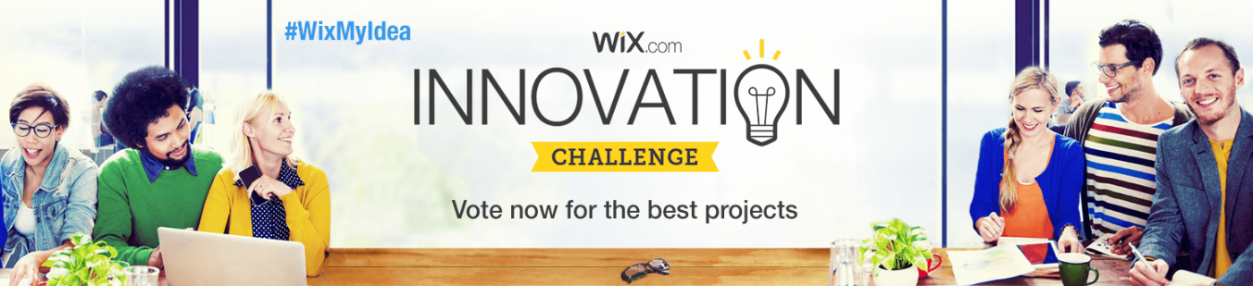 Experience the WIX Innovation Challenge!
