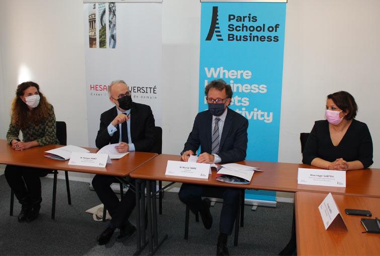 Paris School of Business devient membre associé de HESAM Université