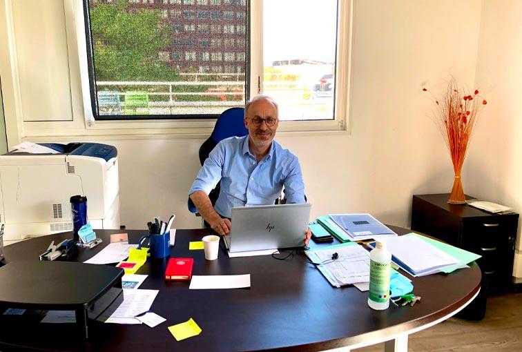 Meeting with of Philippe Jamet, new director of Paris School of Business