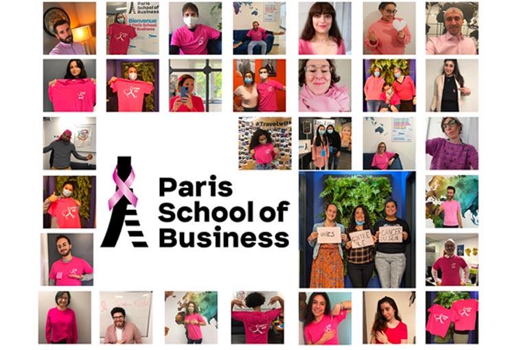 Octobre Rose : Paris School of Business se mobilise contre le cancer du sein !