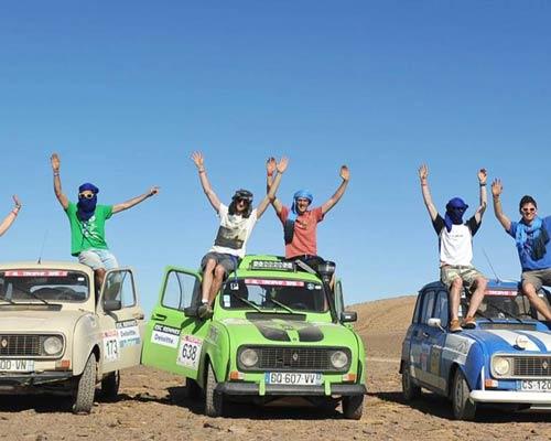 Le 4L Trophy : le plus grand rallye étudiant sportif et solidaire au monde !