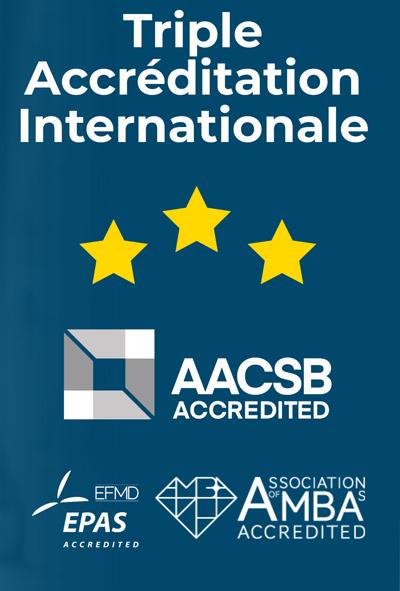 Triple accréditation AACSB AMBA EPAS