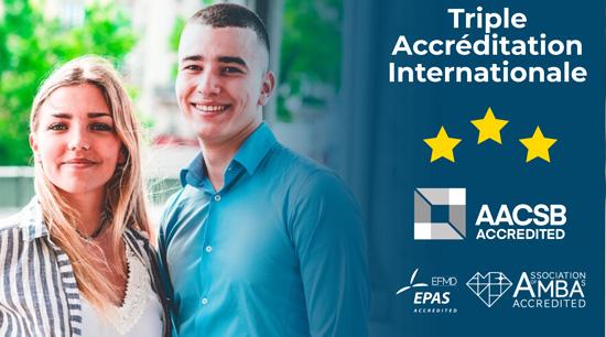 Paris school of Business triple accrédité