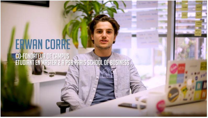 Erwan Corre - co-fondateur de Campus