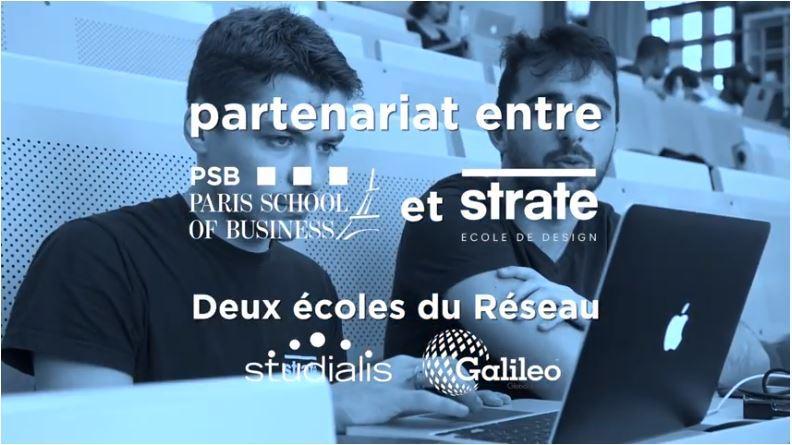 Design Project entre PSB et Strate