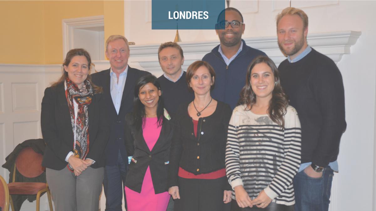 Work meetings in London
