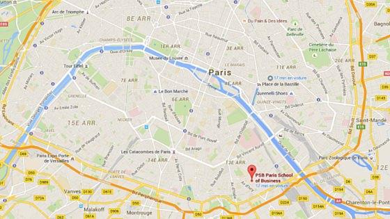 PSB on Google maps