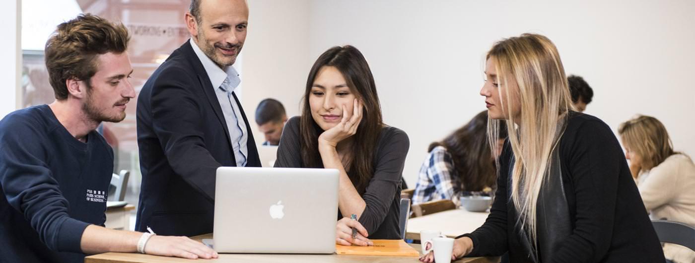 Etudiants de PSB Paris School of Business