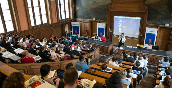 L'amphithéâtre de la Sorbonne pour les SMA 2013