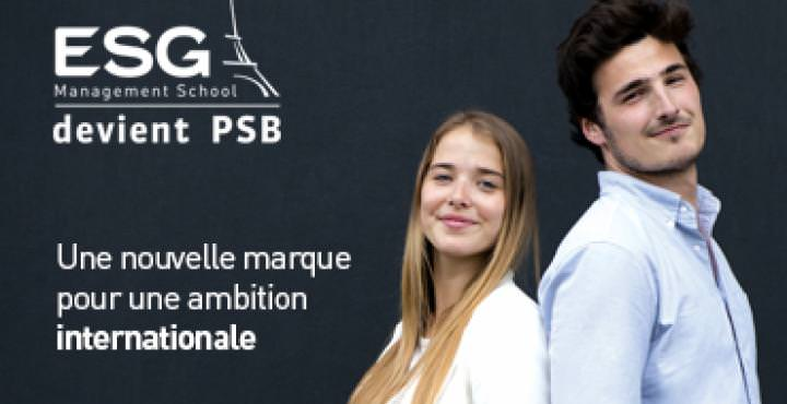ESG MS devient PSB Paris School of Business