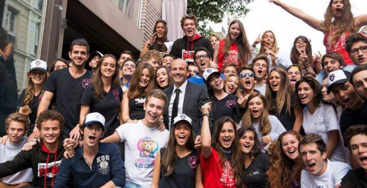 étudiants de l'école de commerce ESG Management School