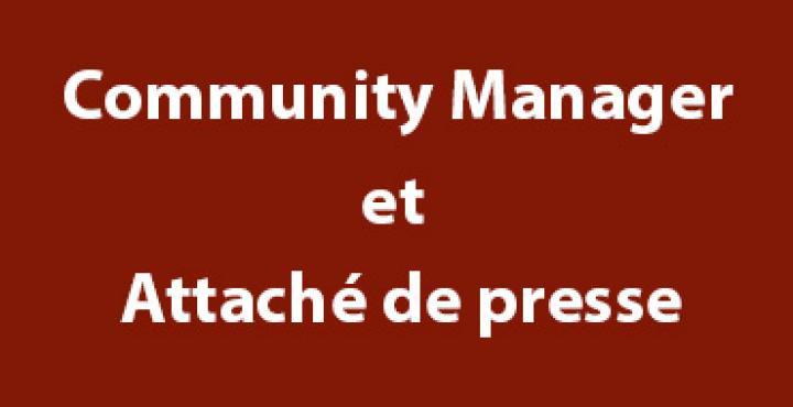 Community Manager et Attaché de presse