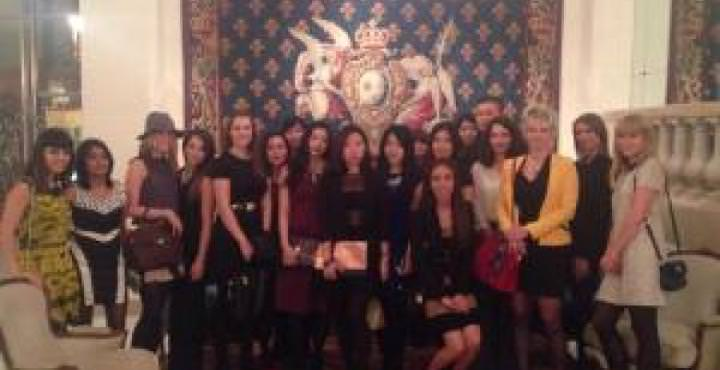 MBA students attend Fashion Saturday at Le Bristol Paris