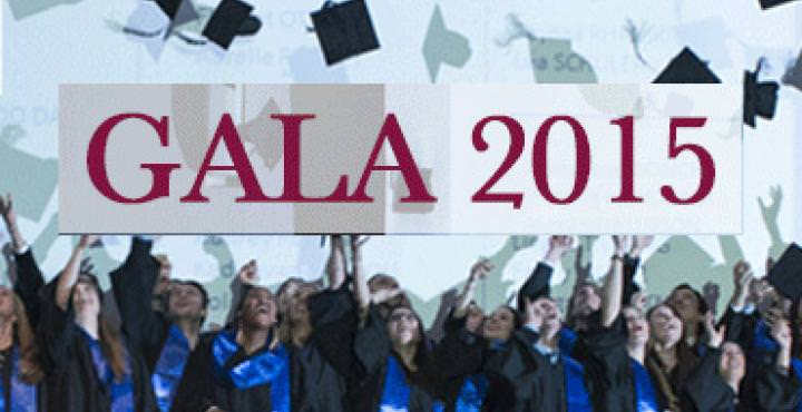 Retour sur le Gala de la remise des diplômes 2015