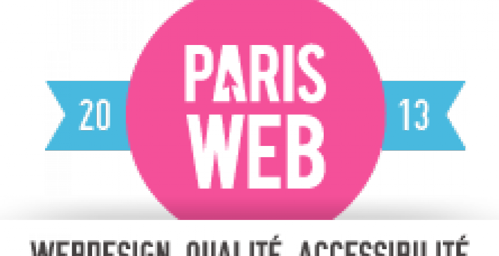 Logo conférence Paris Web 2013