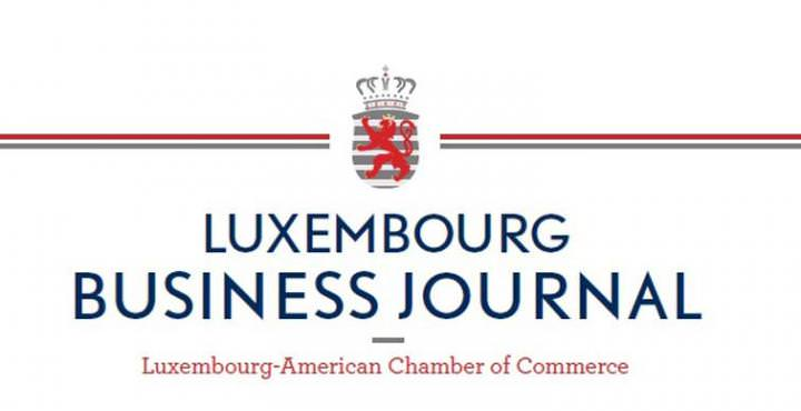 Luxembourg Business Journal, article with Robert James Oliver.