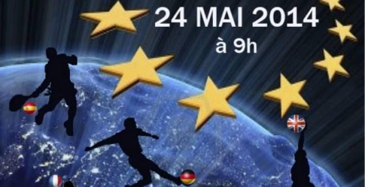 affiche Première édition du Forum Européen du Sport à l'école de commerce