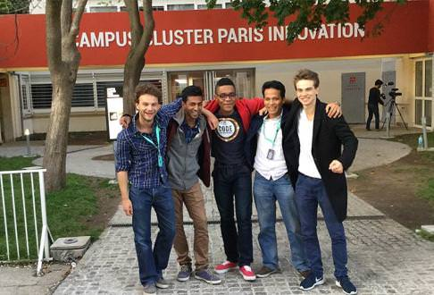 Weekend Challenge Winners at Campus Cluster Paris Innovation