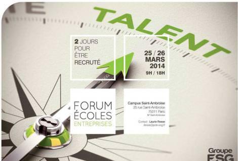 Forum École Entreprise de l'école de commerce
