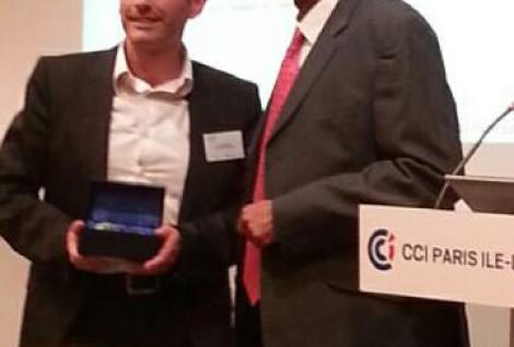 Remise du prix Top Etablissement à l'ESG MS par la CCMP