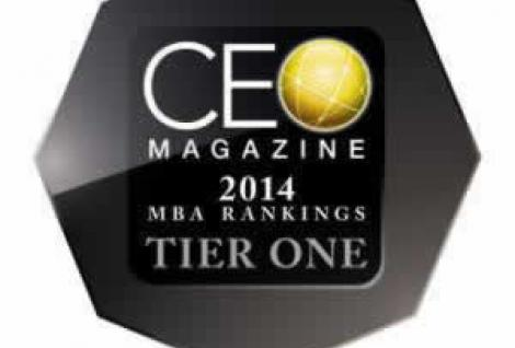 CEO Magazine 2014 MBA Rankings Tier One