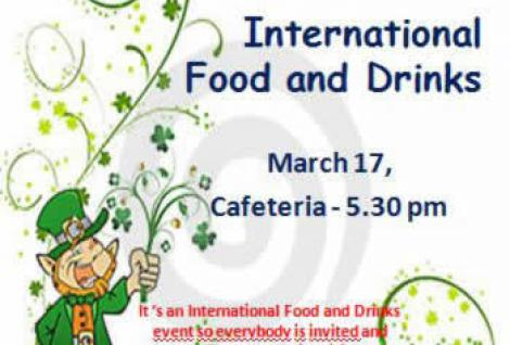 St Patrick's Day - International Food and Drinks