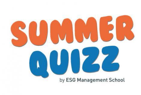 Découvrez le Summer Quizz de l'ESG MS