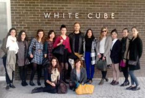 MBA in Arts & Culture Students at White Cube Gallery in London