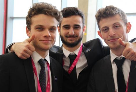 PSB Paris School of Business students who participated to the Hult Prize Challlenge