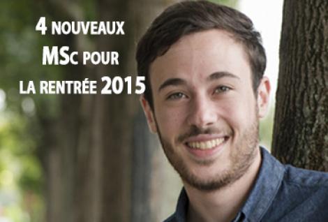 L'ESG MS lance 4 nouveaux MSc pour la rentrée 2015
